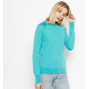 Equipment Sloane Wool Blend Sweater Dark Jade